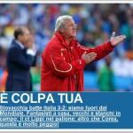 Mondiali 2010, l'Italia a casa: la reazione della Gazzetta, Tuttosport e Corsport – Foto