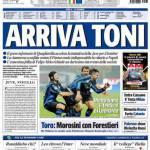 Tuttosport: arriva Toni