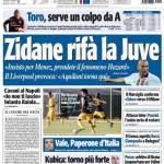 Tuttosport: Zidane rifà la Juve