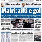 Tuttosport, Matri: zitti e gol