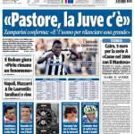 """Tuttosport, """"Pastore, la Juve c'è"""""""