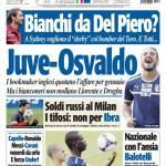 Tuttosport: Juventus-Osvaldo?