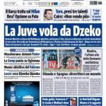 Tuttosport: La Juve vola da Dzeko