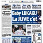 Tuttosport: Baby Lukaku la Juve c'è!