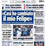 """Tuttosport: """"Così ho cambiato Felipe"""""""