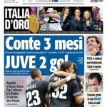 Tuttosport: Conte 3 mesi, Juve 2 gol
