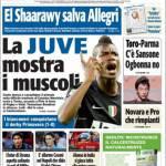 TuttoSport: La Juventus mostra i muscoli