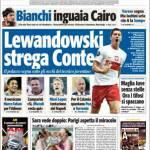 Tuttosport: Lewandowski strega Conte