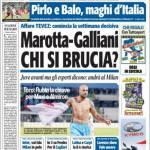 TuttoSport: Marotta-Galliani, chi si brucia?
