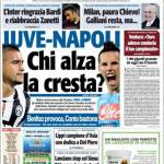 TuttoSport: Juventus-Napoli, chi alza la cresta?