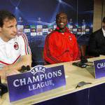 Champions, Real Madrid-Milan: la conferenza di Allegri e Seedorf