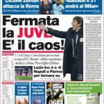 Corriere dello Sport: Fermata la Juve, è il caos