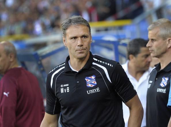 Dutch coach Marco van Basten of Heerenve