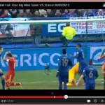 Video – Uno Xavi… da collezione! Guardate che errore per lo spagnolo