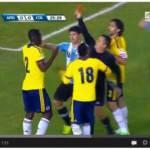 VIDEO – Rissa Zapata-Higuain: l'arbitro espelle entrambi!